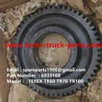 TEREX RIGID DUMP TRUCK HAULER OFF HIGHWAY TRUCK HAULER ALLISON TRANSMISSION WHEEL MOTORTR60 TR50 TR45 TR70 TR100 6833160 GEAR PUMP IDLER