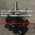 TEREX 3305F CUMMINS WATER PUMP 3800737
