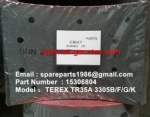 TEREX 3305F Rear Brake Pad 15306804