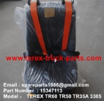 TEREX TR50 HIGH BACK SEAT ASSY 15347113
