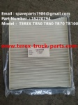 TEREX TR100 DUMP TRUCK 15270794 AIR CONDITIONER FILTER