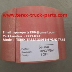TEREX NHL DUMP TRUCK TR50 TR60 09014093 WEARING RING