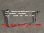 TEREX RIGID DUMP TRUCK TR100 15304670 MIRROR BRACKET