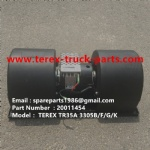 TEREX SANY TR60 TR35A 3305F 3305G  RIGID DUMP TRUCK 20011454  MOTOR BLOWER FAN